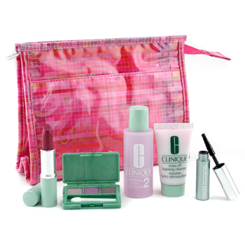 StrawberryNET.com: Clinique Travel Set :  clinique mascara cleanser lipstick